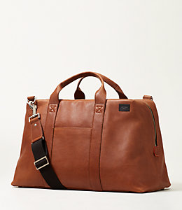 Mason Leather Wayne Duffle