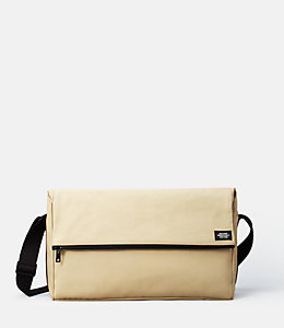 Bonded Cotton Fold-Top Messenger