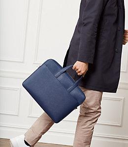Barrow Leather Slim Brief