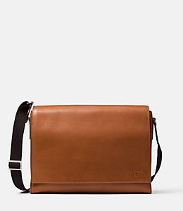 Fulton Leather Messenger