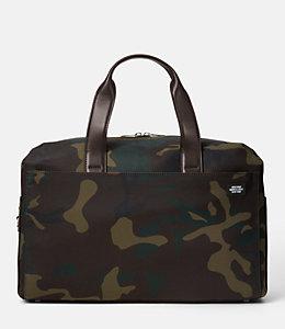 Camo Waxwear Overnight Bag