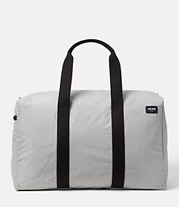 Packable Graph Check Duffle