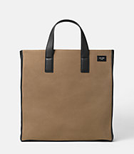 Industrial Canvas Tote