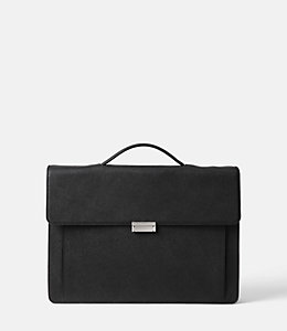 Barrow Leather Top Handle Brief