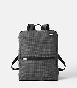Packable Graph Check Backpack