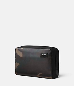 Camo Utility Twill Slim Travel Kit