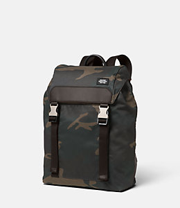 Camo Waxwear Army Backpack