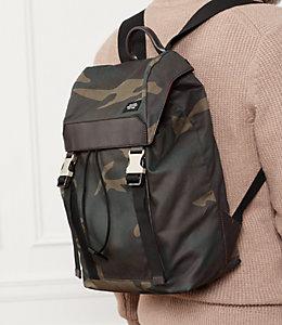 Camo Waxwear Army Backpack