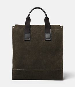 Suede Utility Tote