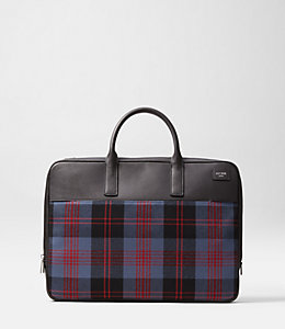Cocharron Plaid Slim Brief