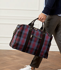 Cocharron Plaid Travel Duffle