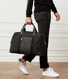 Quilted Waxwear Travel Duffle