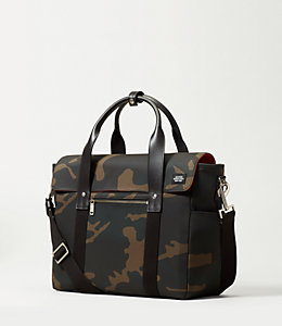 Camo Waxwear Survey Bag