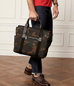 Camo Waxwear Survey Bag