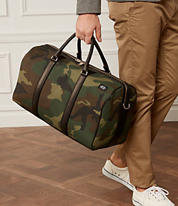 Industrial Canvas Camo Duffle