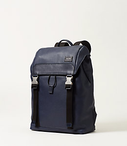 Mason Leather Army Backpack