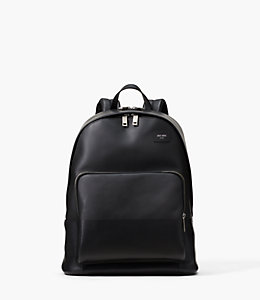 Leather Dipped Backpack