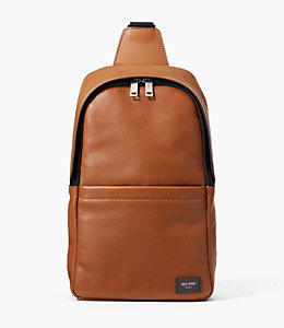 Pebbled Leather Slingpack