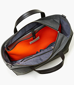 Tech Oxford Coal Tote