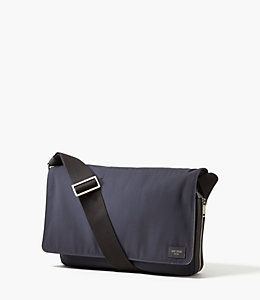 Nylon Twill Convertible Messenger