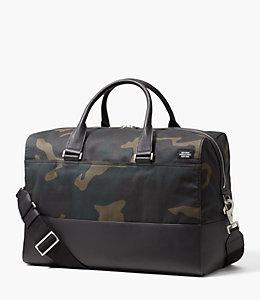 Camo Waxwear Duffle Bag