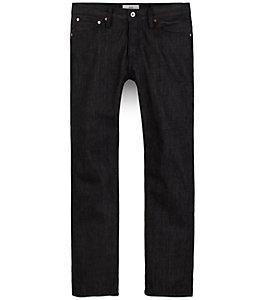 BT-02 Slim Selvage Denim - Black