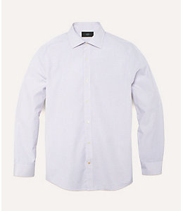 Tattersall Bradford Spread-Collar Shirt