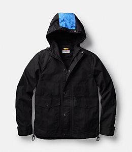 Hooded Waxwear Jacket