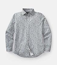 Pointillist Bradford Spread-Collar Shirt