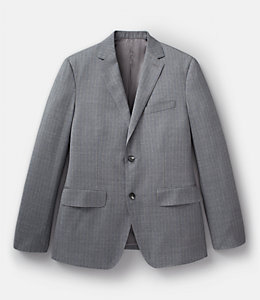 Stripe Italian Wool Benton Suit Jacket