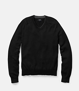 Dexler Cotton V-Neck Sweater