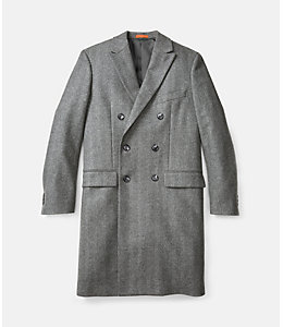 Kempton Double-Breasted Topcoat