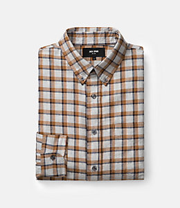 Linfield Herringbone Check Work Shirt