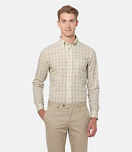 Parrish Flecked Windowpane Shirt