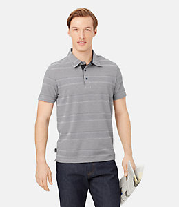 Keaton Striped Polo