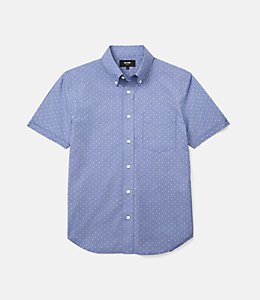 Caulfield Micro Houndstooth Dobby Shirt