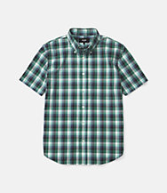 Caulfield Blocked Plaid Shirt