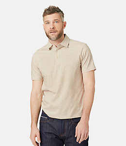 Keaton Heathered Dress Polo