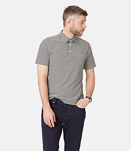 Warren striped Polo