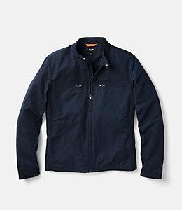 Nylon Moto Jacket