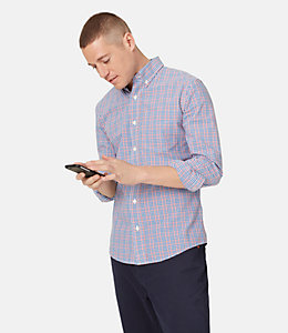 Palmer Mixed Scale Plaid Shirt