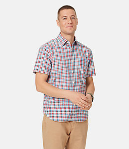 Clift Multi Color Tattersall Point Collar Shirt