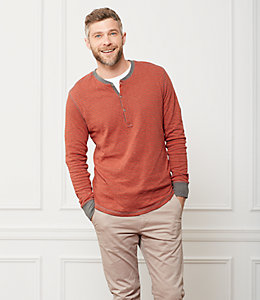 Caine Double Face Henley
