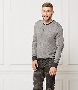 Caine Marled Henley