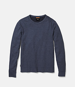 Striped Micro Terry Cloth Sweatshirt