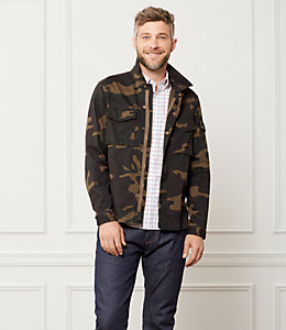 Camo Riverton Shirt Jacket