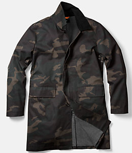 Camo Waxwear Coat