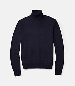 English Rolled Neck Sweater
