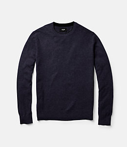 Jersey Stitch Crewneck Sweater