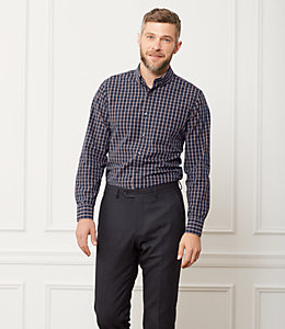 Grant Check Point Collar Shirt